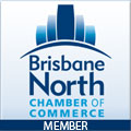Logo Brisbane North Chamber of Commerce Member