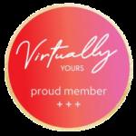 Logo Virtually Yours - Proud Member